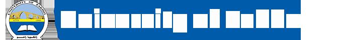 Logo of University of Zakho