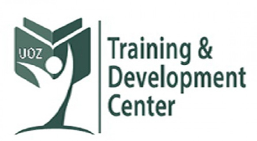 An Announcement from the Training and Development Center