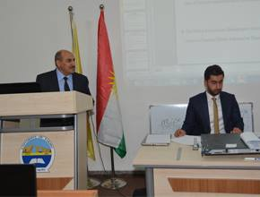 a Workshop on ' The Online System of the E-library at the Tniversity of Zakho'.