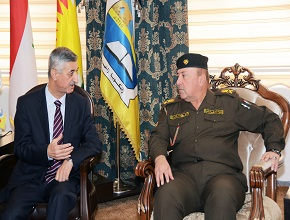 Director of the Military Academy Visited the University of Zakho