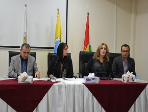 The Signing Ceremony for the Kurdish Poet Jagar Khwin's book at the University of Zakho