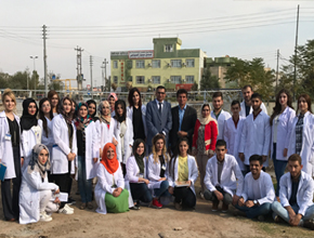 A Scientific visit for the students of the Department of Environmental Science to the meteorology station in Zakho city