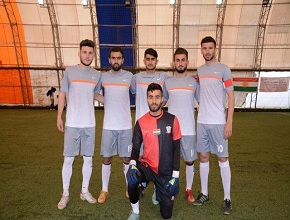 The team of the University of Zakho scored two goals against the team of the University of Koya