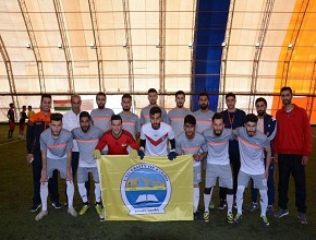 The team of the University of Zakho scored two goals against the team of the Nawroz University