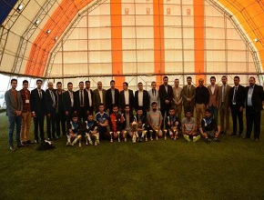 The University of Zakho achieved second place at the mini football tournament of the universities of Kurdistan region