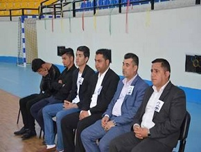 "The University of Zakho organized a funeral ceremony for the student ""Bashar Assad Ali"""