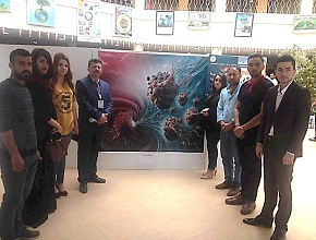 The Exhibition of the painting of Science at the University of Zakho