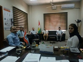 The dean of the Faculty of Engineering meets with the academic staff of the Department of Mechanical Engineering