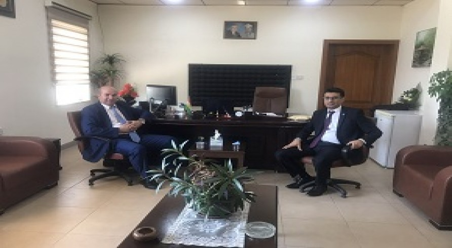 The College of Engineering Visited Duhok University