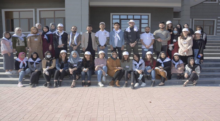 Students of the Faculty of Education Conducted a Clean-Up Activity
