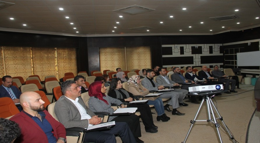 A Delegate from the University of Zakho Participated in a Meeting