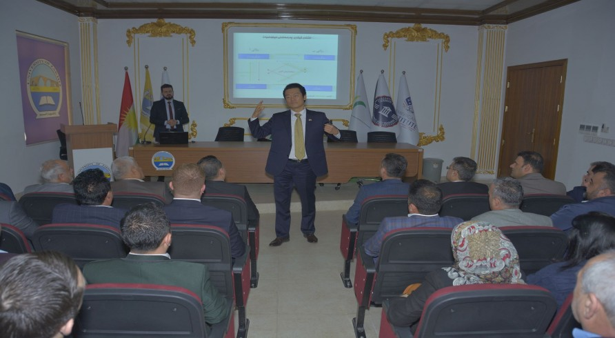 Consul of South Korea Delivered a Seminar at the University of Zakho