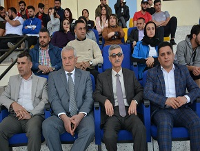 The University of Zakho Hosts Basketball Tournament for the Third Year in a Row