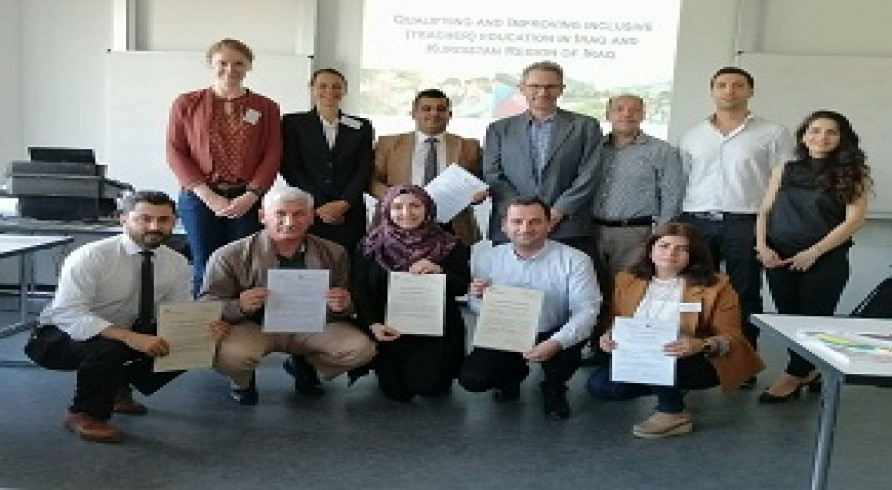 "The University of Zakho Participated in the Summer Conference of the Project ""Qualification for Inclusive Education in Iraq and Kurdistan Region"" in Oldenburg and Vechta Universities in Germany"