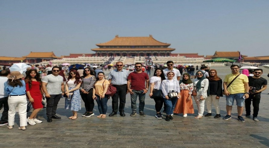 A Student from the University of Zakho Participated in an Exchange Program in China