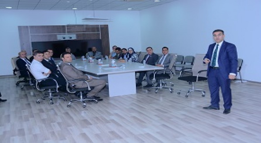 A Committee From the Ministry of Higher Education and Scientific Research of Iraq Visited the University of Zakho