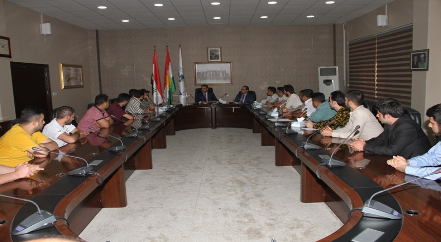 The Minister of Higher Education and Scientific Research Met with Top Students of Kurdistan Universities