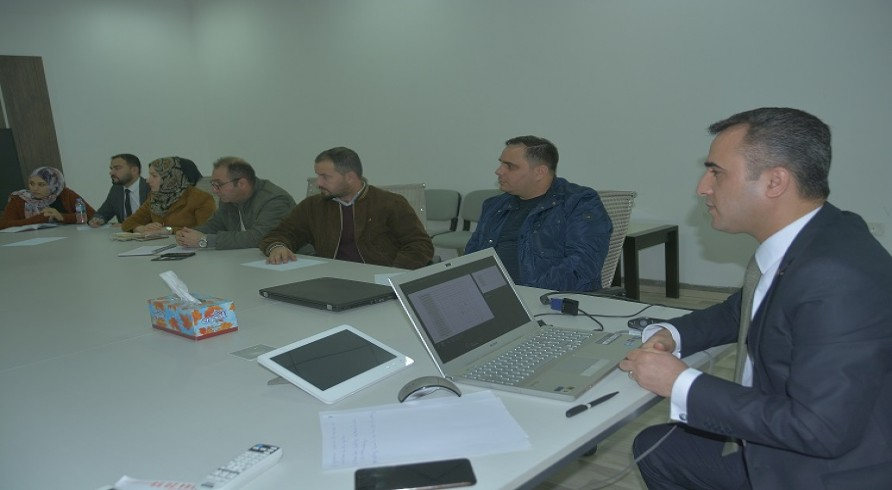 A Workshop on the System of the Quality Assurance Was Conducted at the University of Zakho