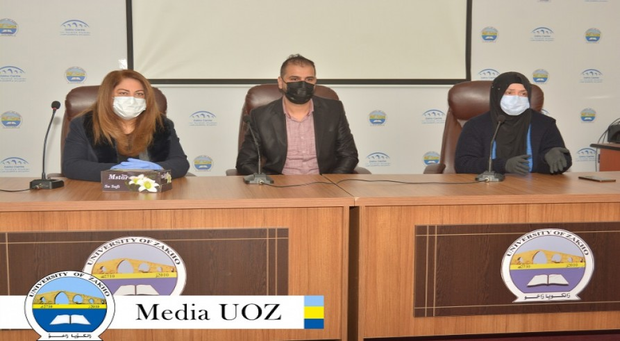 The University of Zakho Continues its Awareness Campaigns on the Dangers of Coronavirus