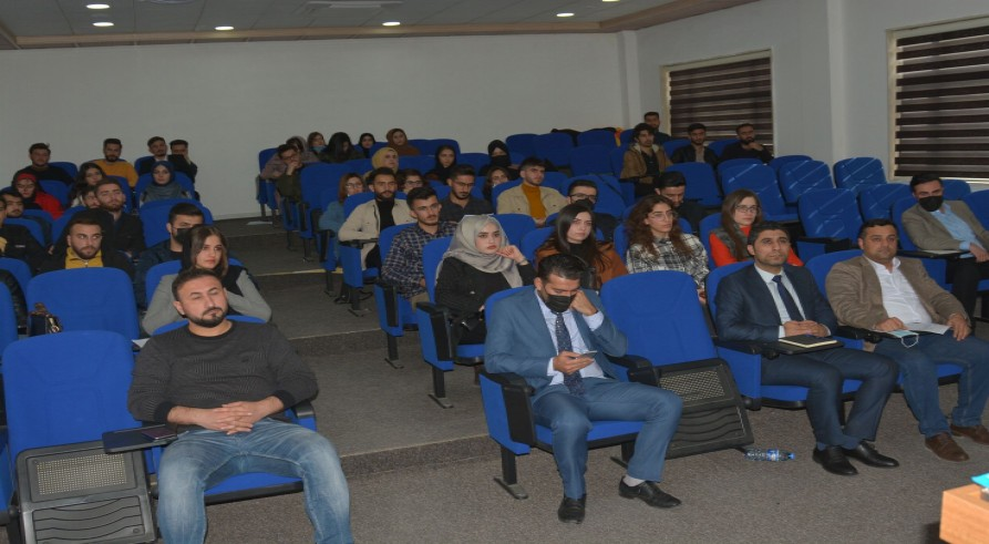 A Seminar on IOSH Was Conducted at the University of Zakho