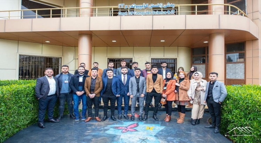 The Department of Computer Science Conducted a Visit to Salahaddin University
