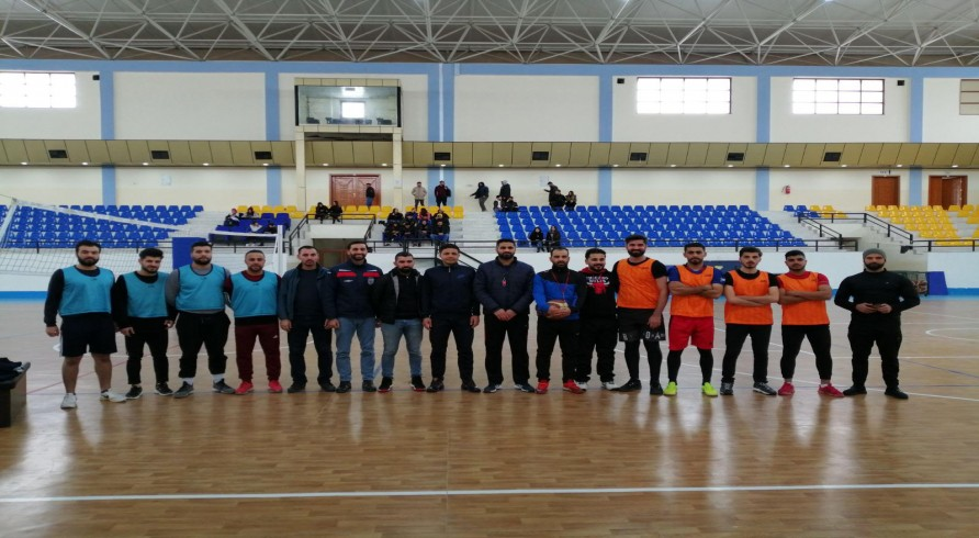Basketball Tournament (3*3) Was Conducted at the Faculty of Education