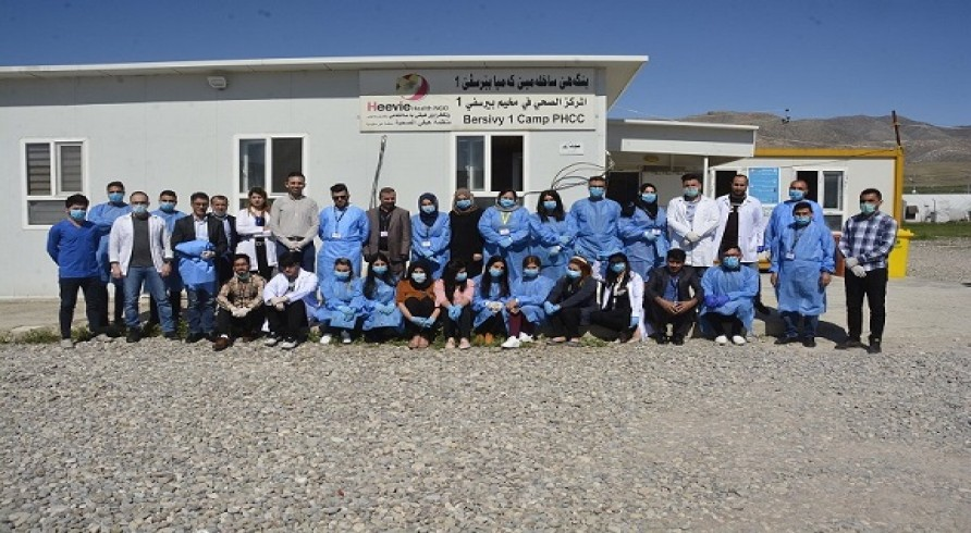 Students of the College of Medicine Visited IDPs Camps