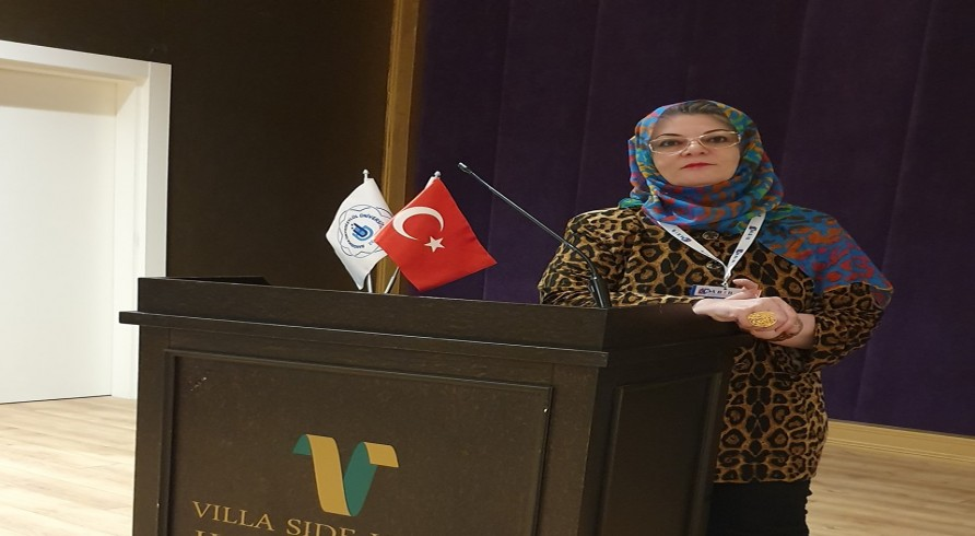 A Lecturer at the Arabic Department Participated in a Conference in Turkey