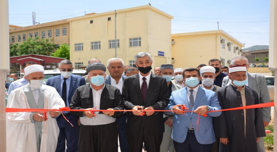 "The University of Zakho Inaugurates  the ""Aisha"" Mosque at the Campus of the University"