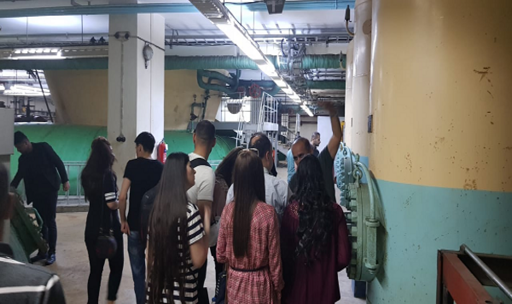The Department of Mechanical Engineering Organized a Scientific Trip for Its Students