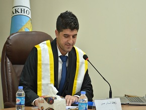 Zhehat Q. Hassan Defended His Master Thesis at the University of Zakho