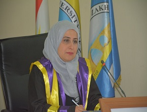 A Master Thesis Was Defended By Ms.Zheyan A. Ali