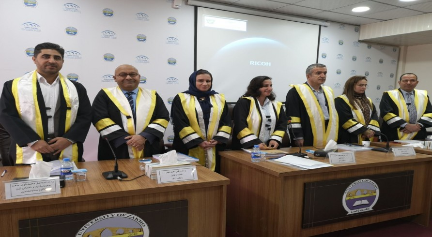 The Doctoral Dissertation of Mr. Chiyad A. Abdulkarim Was Defended